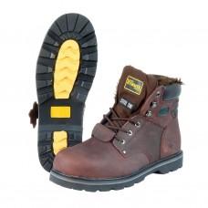 Ботинки Hammer коричневые утепленные