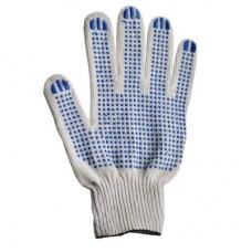 Перчатки х\б с ПВХ (5нит,10кл.)