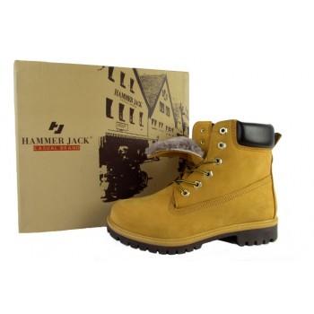 Ботинки Hammer желтые мп