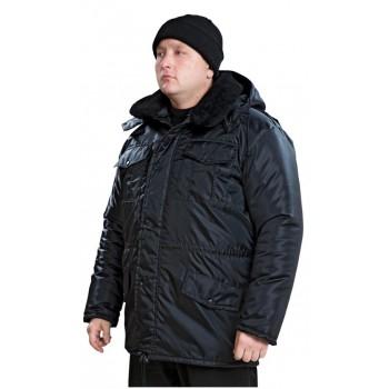 Куртка утепленная  Охранник удлиненная