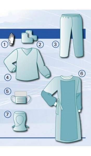 Комплект одежды защитной хирургические специальные  № 8. спец. нестерильный