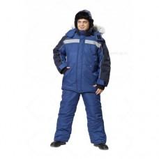 Костюм утепленный Аляска, синий