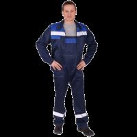 Костюм'Чикаго' куртка+п/к (синий/василек СОП)