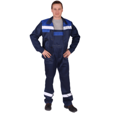 Костюм Чикаго куртка+п/к (синий/василек СОП)