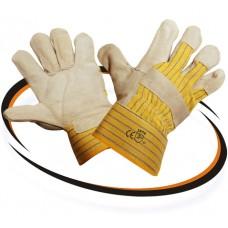 Перчатки спилковые комбинированные  TRAL