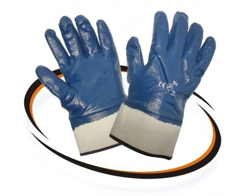 Перчатки Нитрил1 (полн.облив.,манжет крага)