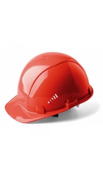 Каска строительная (красная)