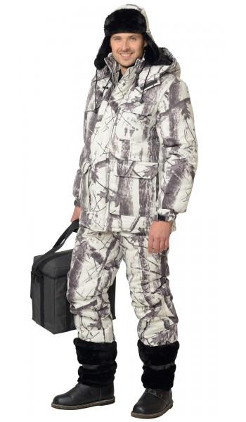Костюм утепленный Снайпер, куртка+п/к, КМФ
